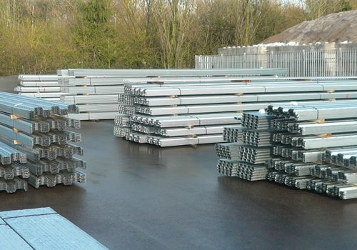 Our yard carries a large supply of metal decking to purchase.