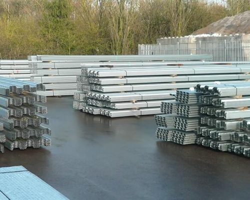 Our selection of metal decking in Scotland.